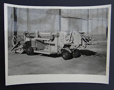Photo ancienne BRAUD moissonneuse batteuse A2080 tractor tracteur Traktor 5