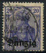 Danzig 1920 SG#4, 20pf Violet-Blue Used #A90654