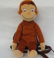 "16"" CURIOUS GEORGE PLUSH DOLL MONKEY BAG BACKPACK NEW"