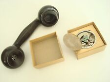 Antique Kellogg  telephone OLD STYLE handset Transmitter with diapragm NOS