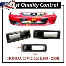 FRP Front Bumper Air Duct Vent Air Flow For Honda Civic EK9 Hatchback 99-00 Vtec