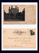BATON ROUGE STATE HOUSE POSTED 1904 TO MR. WALTER GRUBB OF INDIANAPOLIS, INDIANA