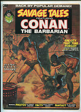 SAVAGE TALES FEATURING CONAN THE BARBARIAN #2 (9.0) 1973