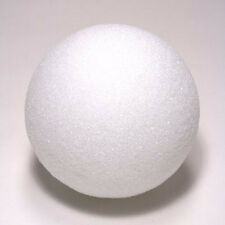 "6 Pieces  6"" Styrofoam Balls Real Styrofoam   (Larger Packs Listed Separately"