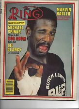 MICHAEL SPINKS BOXING THE RING MAY 1983 MAGAZINE NO LABEL POOR BINDING