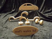 Giocattolo auto MDF in legno artigianato KIT progetto BAMBINI CAMERA DA LETTO ARTIGIANALE Galles