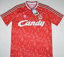 LIVERPOOL ADIDAS ORIGINALS FOOTBALL SHIRT (SIZE M)