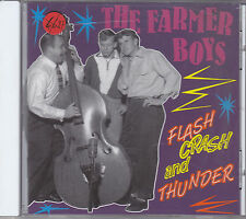 THE FARMER BOYS - flash crash and thunder CD