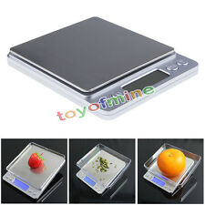 LCD MINI 0.1g x 2000g Precision Jewelry Electronic Digital Balance Weight Scale