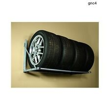 Mounted Tire Rack Trailer Shop Garage Storage Wheels Parts Accessories Race Car