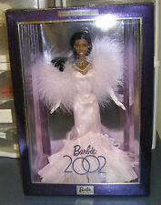 Rare 2002 African American Collector Edition Barbie Doll Pink Gown NRFB HTF