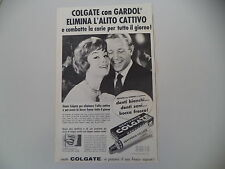 advertising Pubblicità 1960 DENTIFRICIO COLGATE