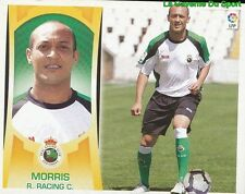 7 NASSIF MORRIS SOUTH AFRICA REAL RACING SANTANDER STICKER ESTE LIGA 2010 PANINI