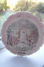 Royal Albert The Carol Singers Plate Wind In The Willows 1st Quality British