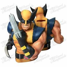 Marvel Wolverine X-Men Figure Statue Bust Licensed Piggy Coin Bank