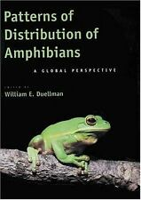 Patterns of Distribution of Amphibians : A Global Perspective (1999, Hardcover)