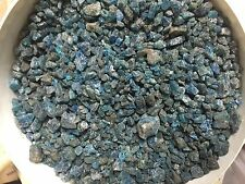 1lb Wholesale Smaller Deep Blue Apatite Gem Crystals