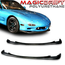 93 94 95 Mazda RX7 R-package R1/R2 JDM Front Bumper Urethane Lip Chin Spoiler PU
