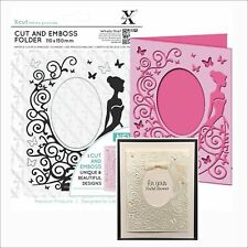 Xcut embossing folders A6 DRESS Cut and Emboss folder - Weddings XCU503801