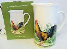 Macneil de cadeaux en céramique Coq & poule grande carafe new in box