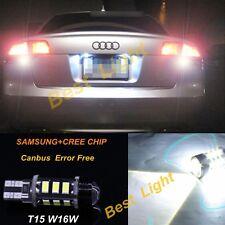 2x White Error Free LED Reverse Back up Light Bulb For AUDI TT Quattro MK2 08-14