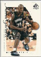 1999-2000 SP Authentic KEVIN GARNETT Sample # KG Near Mint promo