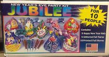 New Years Eve Jubilee Multi Colored Party Pack Kit for 10 People