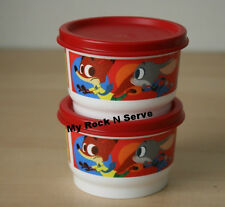 TUPPERWARE Disney Zootopia Snack Cup 4 oz (2)  New
