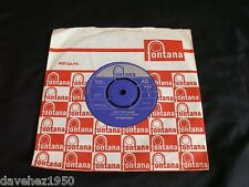 THE MERSEYBEATS. Don't Turn Around bw Really Mystified. 1964 Mono 45 TF 459. EX+