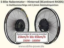 9Continent RH205 E-Bike Motor 250W - 1000W 25km/h-45km/h S-Pedelec kein Bausatz