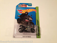 Hot Wheels HW City Grey Ducati 1199 Panigale Superbike Diecast Model