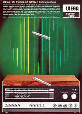 WEGA-3110-HiFi-1966-Reklame-Werbung-genuine Advertising - nl-Versandhandel