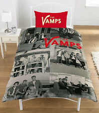 THE VAMPS SINGLE PANEL DUVET QUILT COVER OFFICIAL BAND POLYCOTTON BEDDING SET