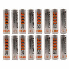 16 pcs AA 3000mAh Ni-MH 1.2V Rechargeable Battery Cell Toy UltraCell US Stock
