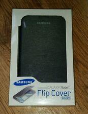 Genuine Samsung Galaxy Note 2 Flip Book Cover Case Black  EFC-1J9FSEGSTD