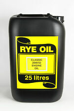 Classic Motor Bike 20/50 Engine Oil 25 Litre API SF/CC/CD, MIL 2104B