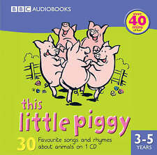 THIS LITTLE PIGGY - 30 SONGS & RHYMES NEW/SEALED CHILDRENS CD AUDIO BOOK