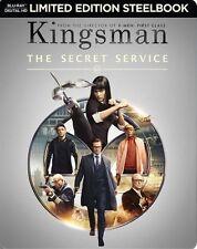 New Sealed Kingsman: The Secret Service Steelbook Blu-ray Disc + Digital HD