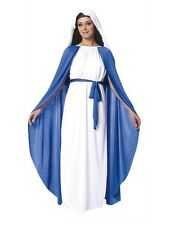 Adult Womens Virgin Mary Costume Christmas Kings Wise Men Fancy Dress Party
