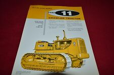 Allis Chalmers HD-11 Crawler Tractor Dealers Brochure YABE11 VER90