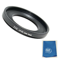JJC LH-52 Metal Lens Hood Shade for Canon EF 40mm EF f2.8 STM Pancake 52mm ES-52
