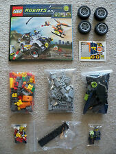 LEGO Agents - Rare Original Agents 8969 4-Wheeling Pursuit - Complete w/ Inst