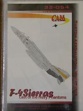 1/32 CAM Decal F-4 SIERRAS: Last of the Navy Phantoms F-4S VF-302 Stallions OOP