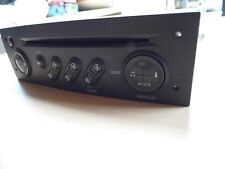 2006 Renault Megane Stereo CD Player Head Unit UPDATE LIST