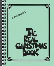 The Real Christmas Book Sheet Music C Edition Includes Lyrics! Real Bo 000240306