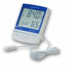 2 in 1 Digital Thermo Hygrometer Thermometer external Sensor
