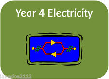 KS2 Year 4 Science ELECTRICITY Primary Teaching Resources IWB worksheets display