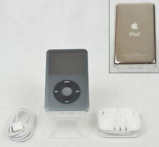 Apple iPod Classic 7th Generation Black (160 GB) (A1238) - MINT CONDITION Bundle