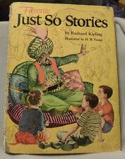 Vintage Book Favorite Just So Stories (1957) by Rudyard Kipling/H.B.Vestal
