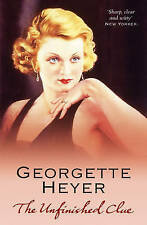 HEYER,GEORGETT-UNFINISHED CLUE, THE  BOOK NEW